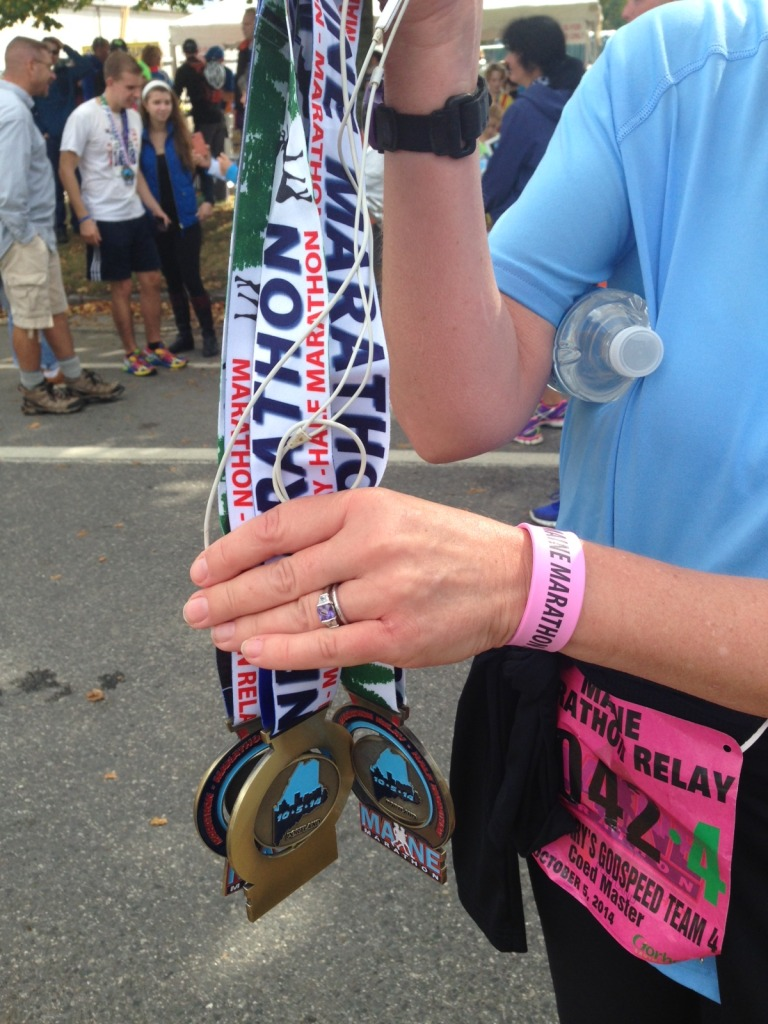 Every participant gets a cool medal